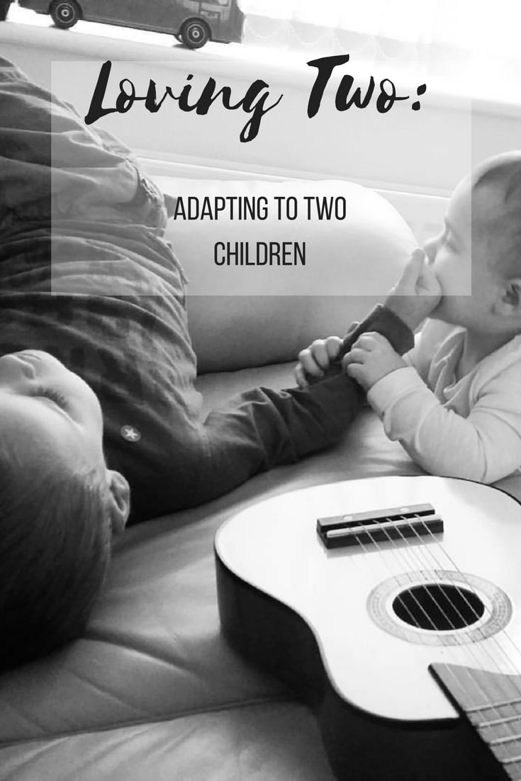 Loving Two- adapting to two parents. A look at how having a second child can change your parenting and family.