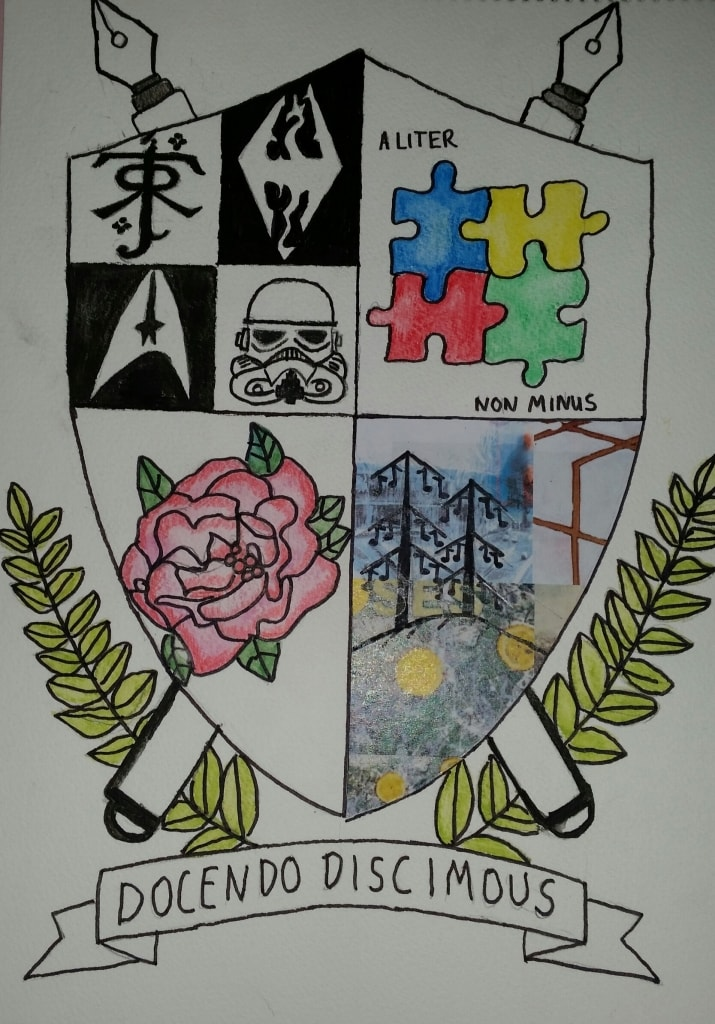 I coat of arms I designed for the competition