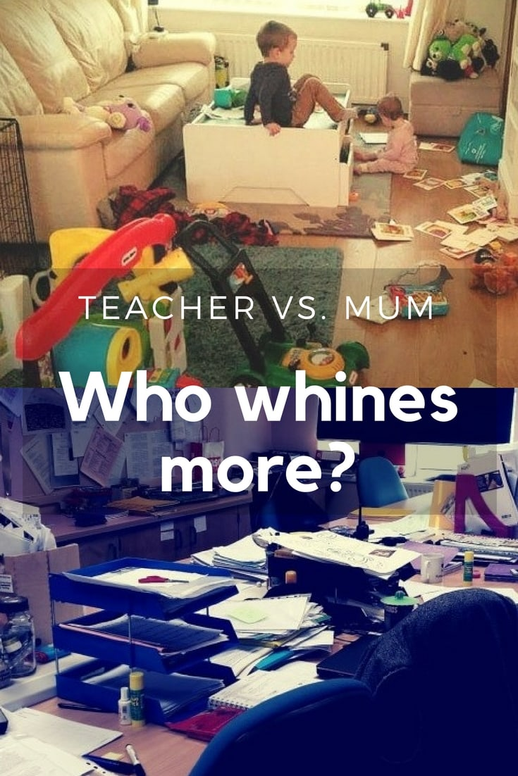 Teacher vs. Mum - Who whines more- The no complaints challenge asks all to go a whole day without complaining once.
