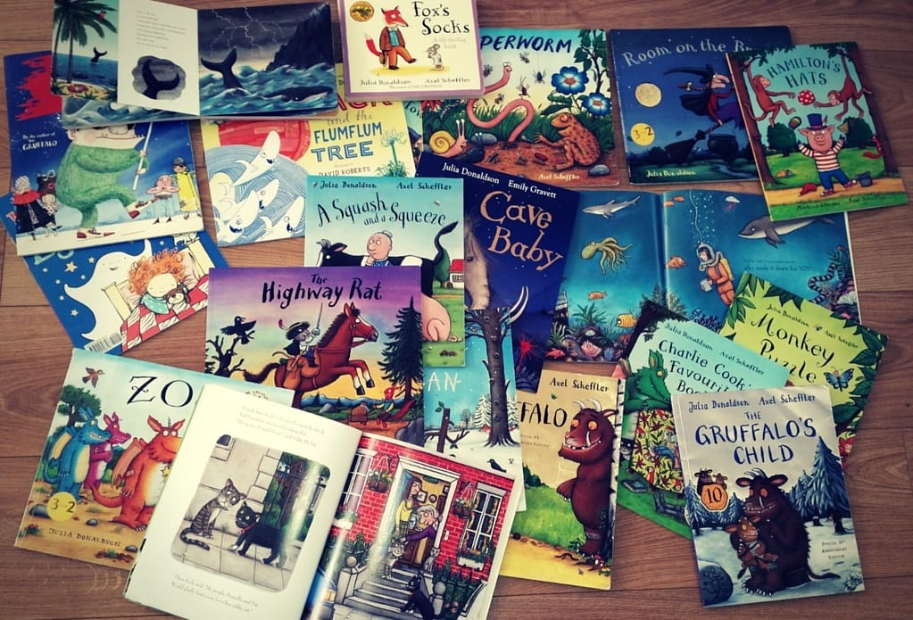 Five Reasons to Love Julia Donaldson.
