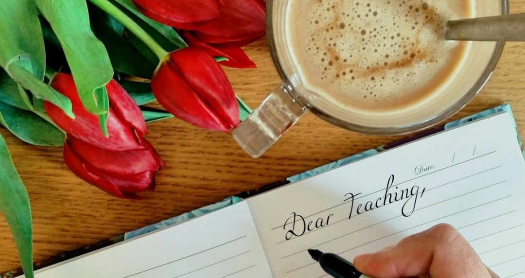 Teaching: a break-up letter