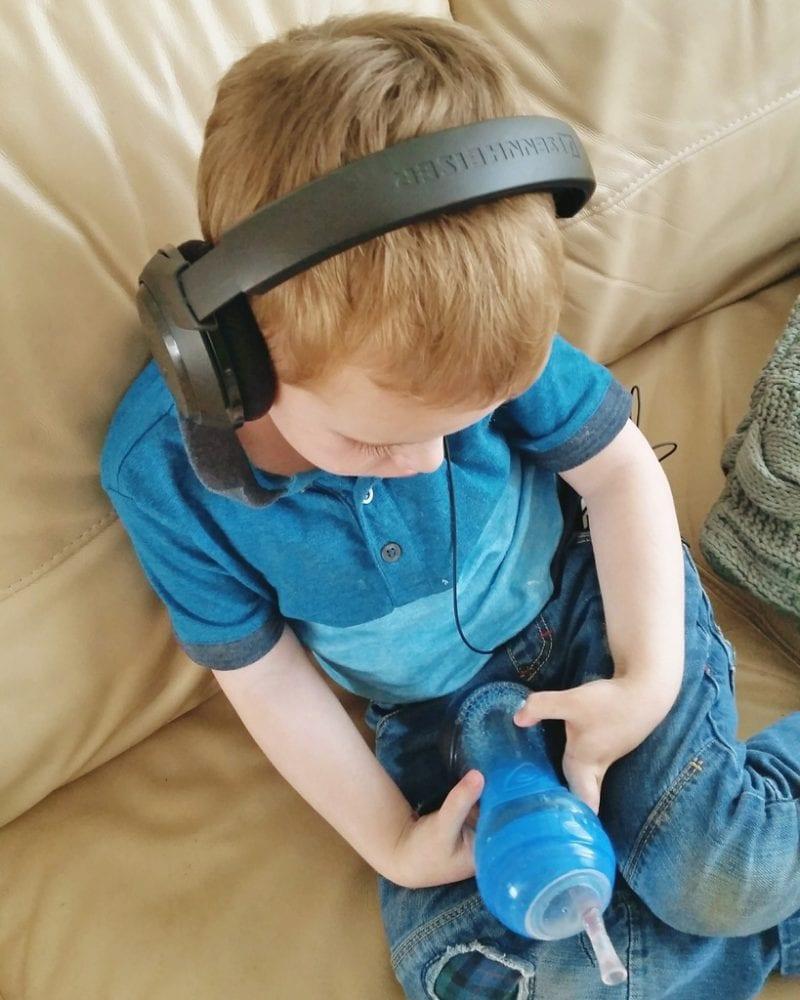 Biggest with his headphones