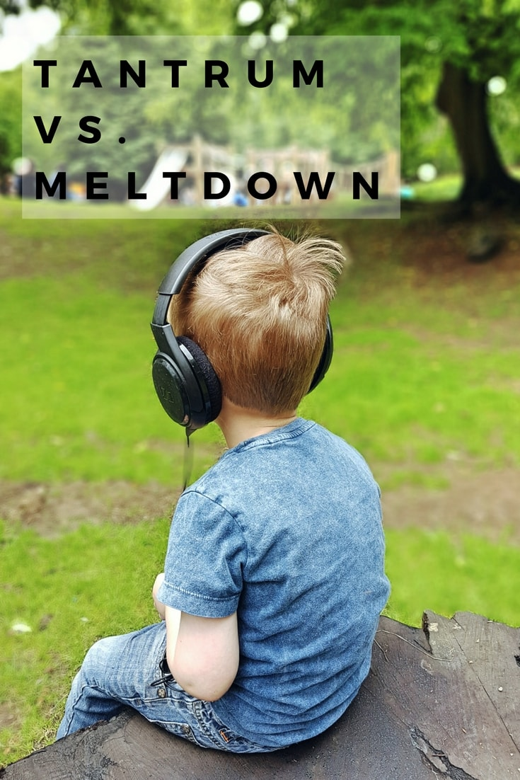 Tantrum or Meltdown- - This explains a little bit about the difference between an autistic meltdown and a tantrum.