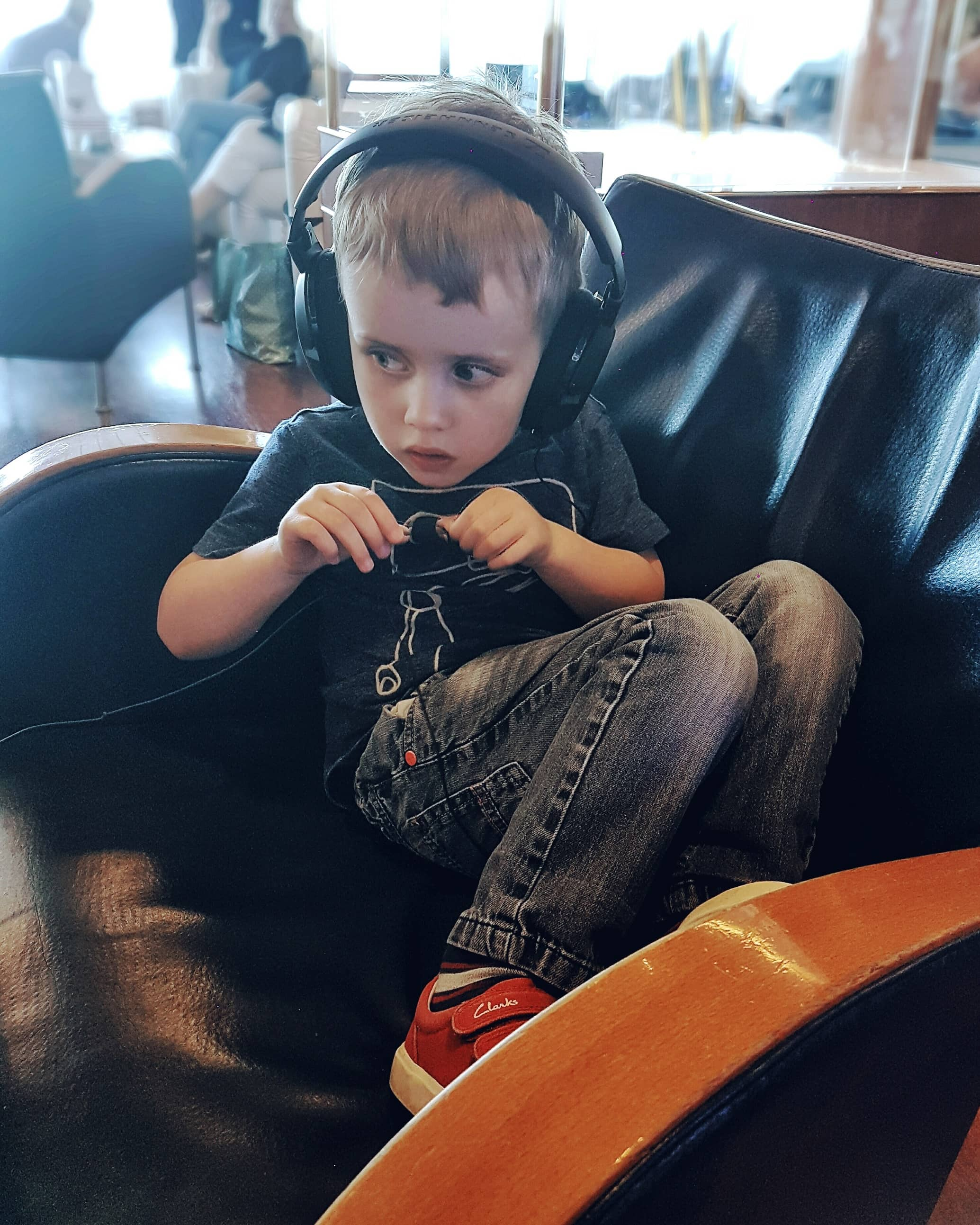 Boy with autism on ferry by Someone's Mum