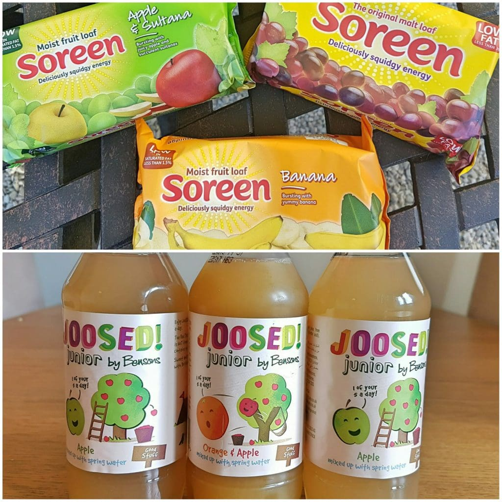 Soreen and Joosed! – Healthy snack-time treats.
