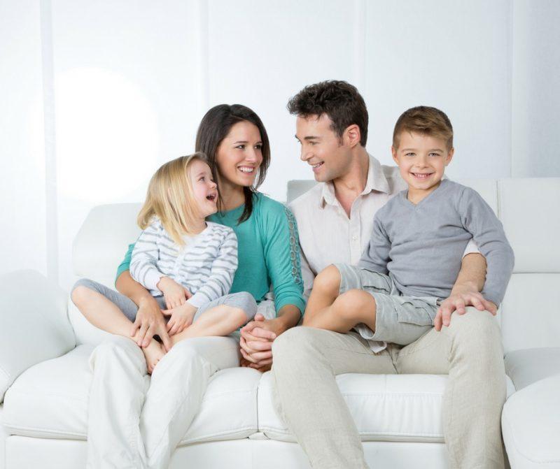 Sofa stock photo