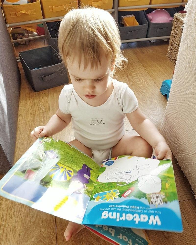 Littlest with Teletubbie Magazine