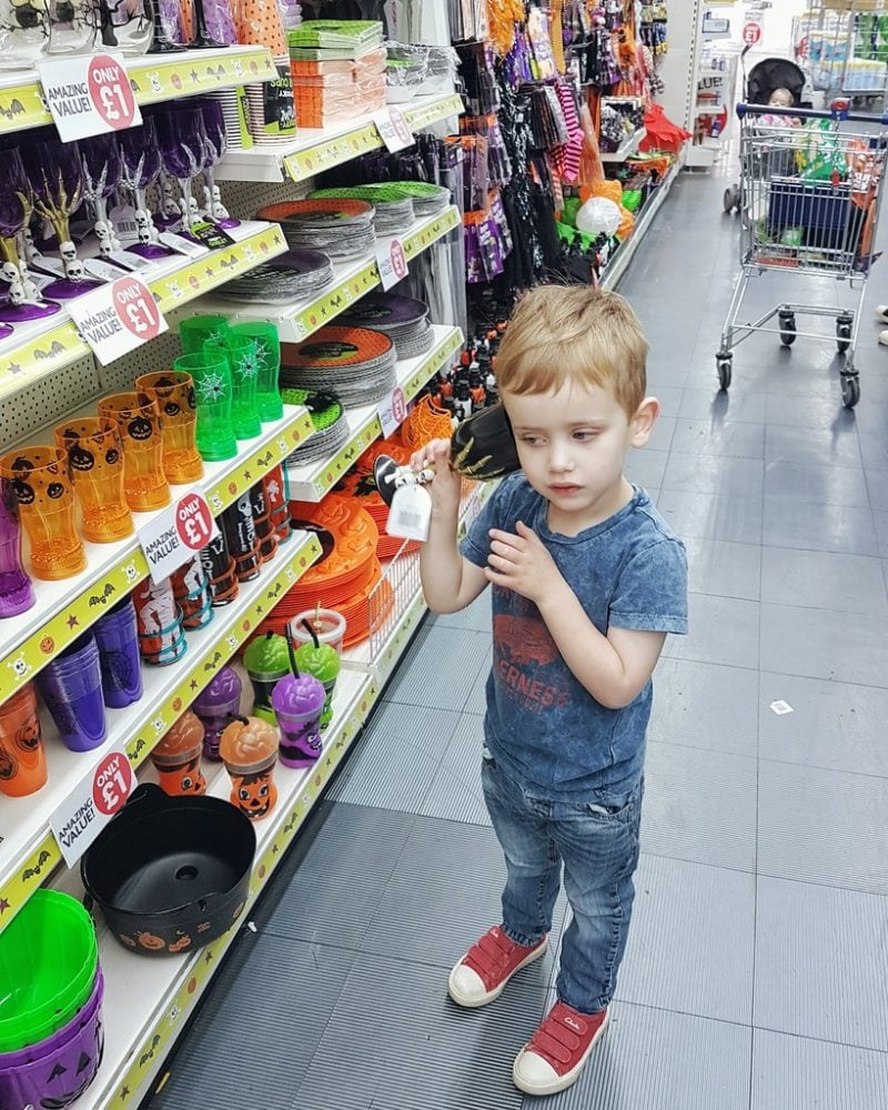 Biggest checking out the Poundworld range