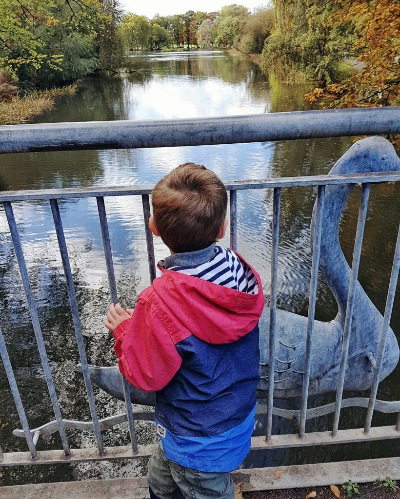 Boy looking over the river. A post in support of the Changing Places Campaign.