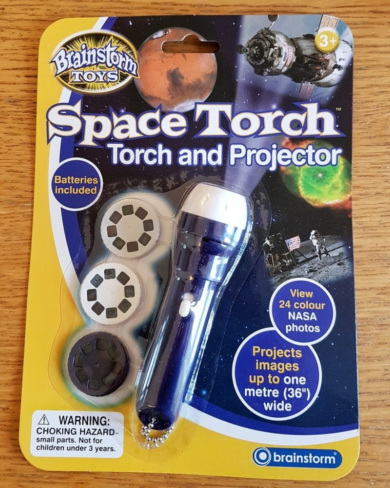 Space torch from Wicked Uncle