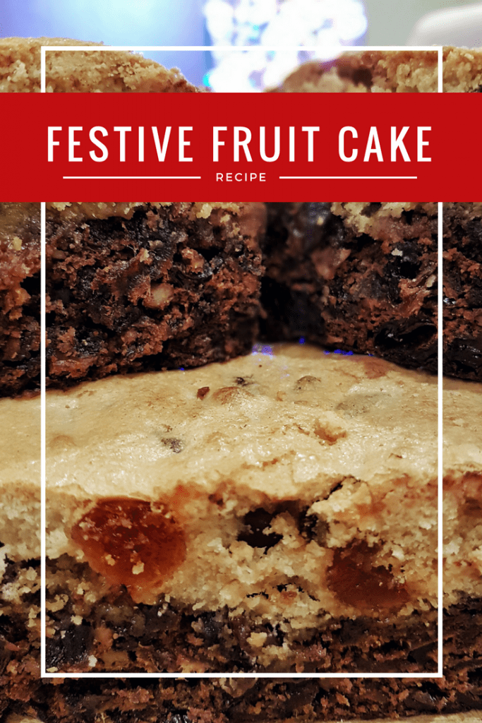 Double Decker Festive Fruit Cake