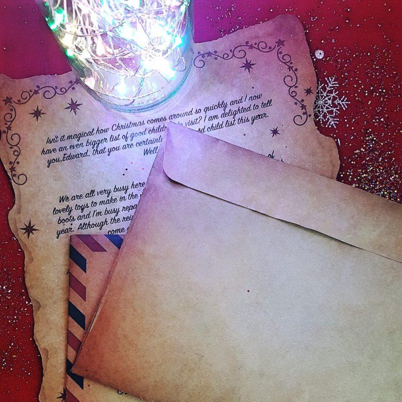 Magic Santa Letters