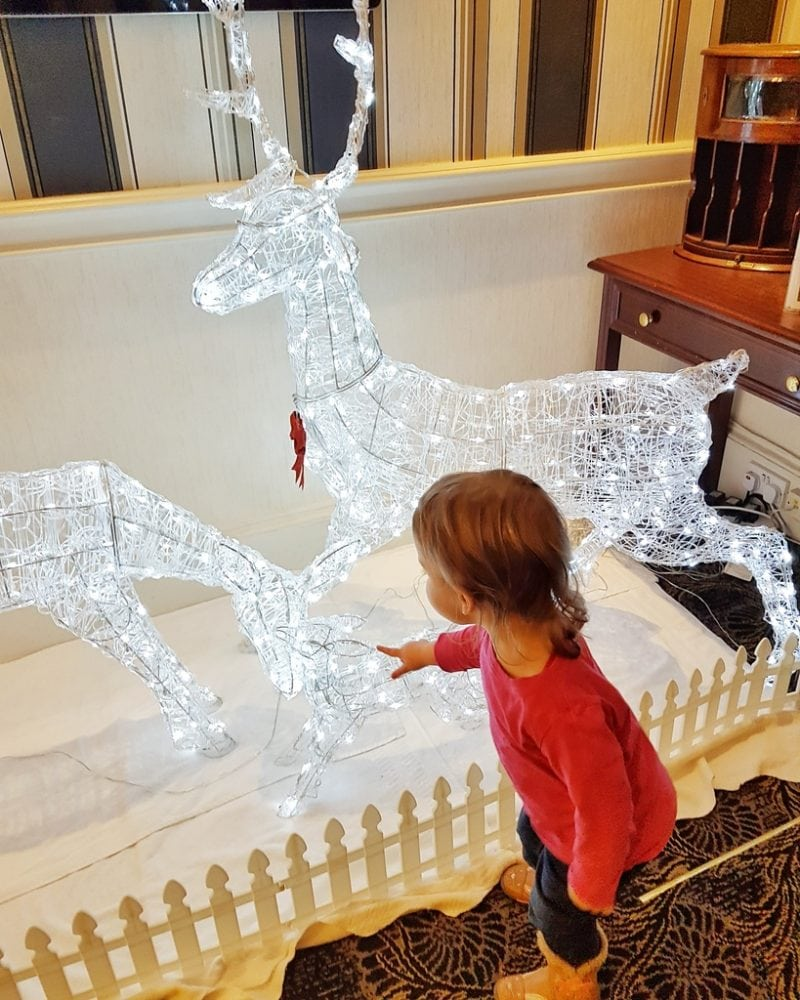 Light up reindeer