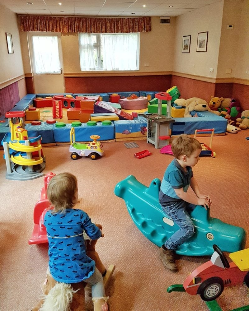 The play room Langstone Cliff Hotel