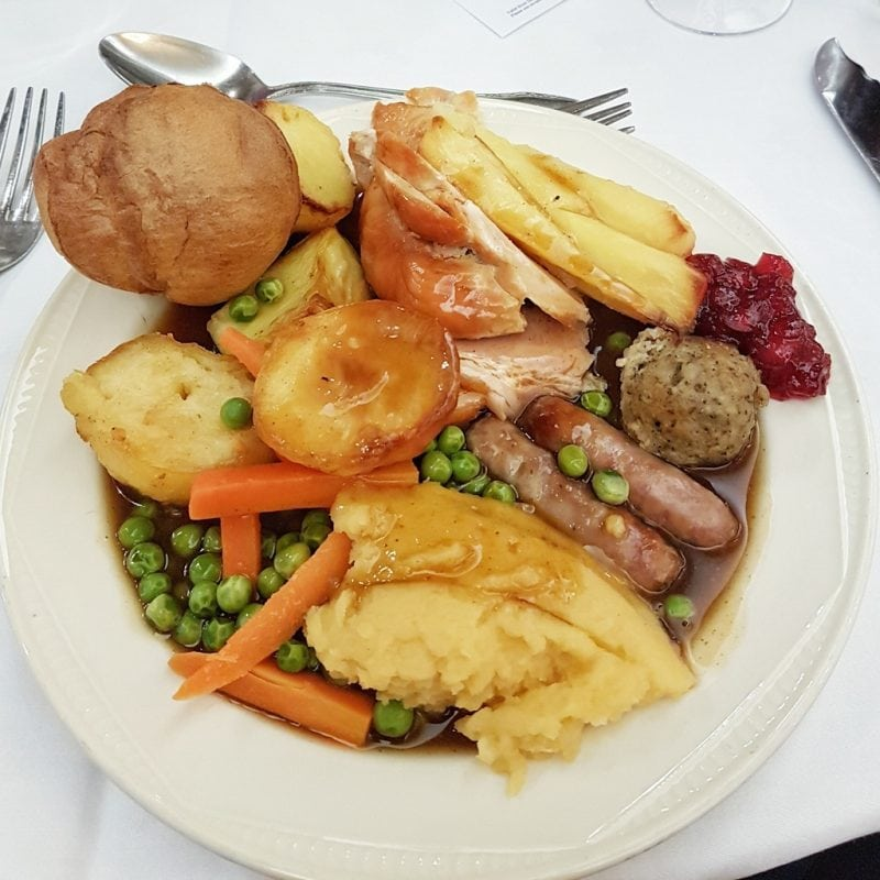 Christmas dinner at the langstone cliff hotel