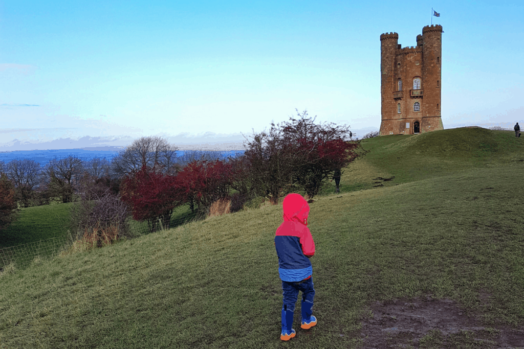Boy walks near castle - Photo by Someone's Mum