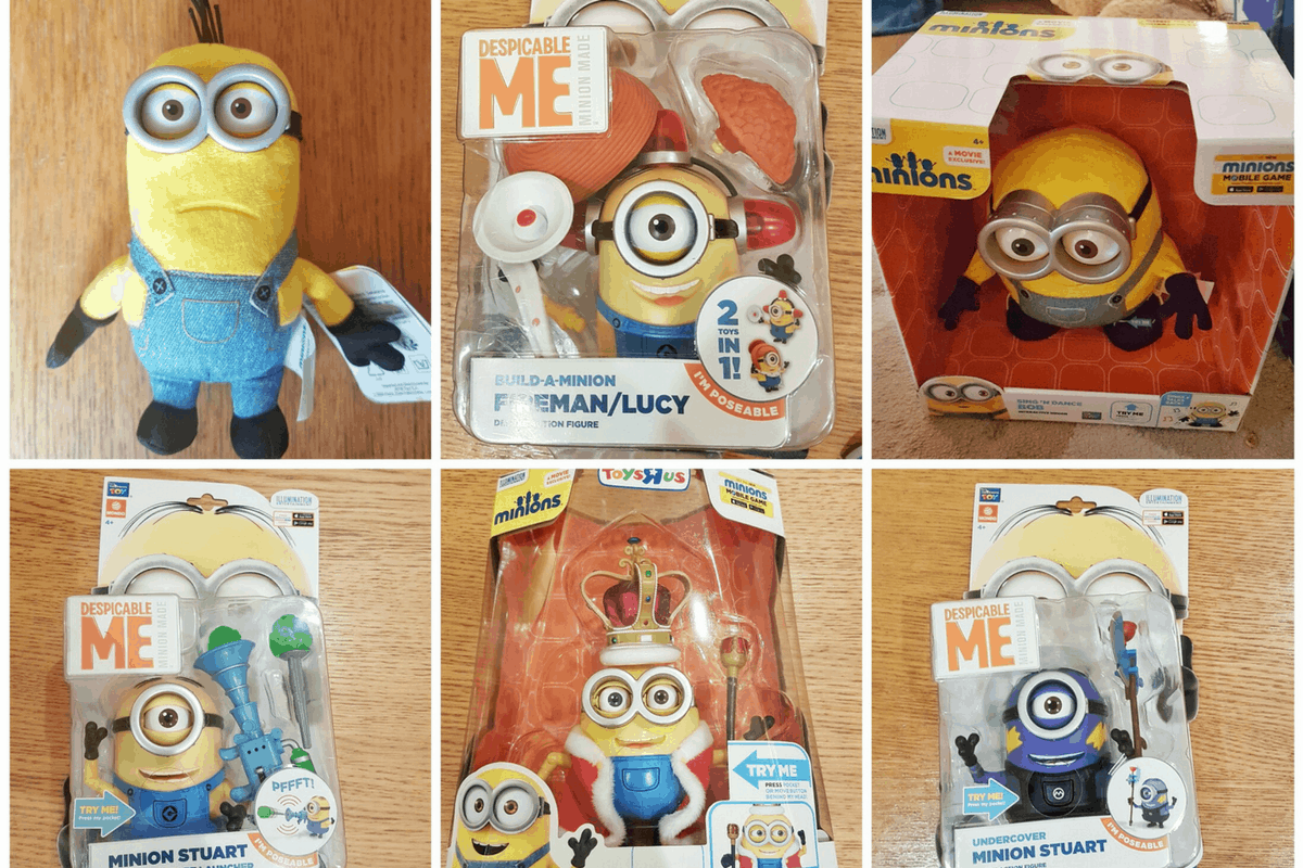 Minions Toys Review