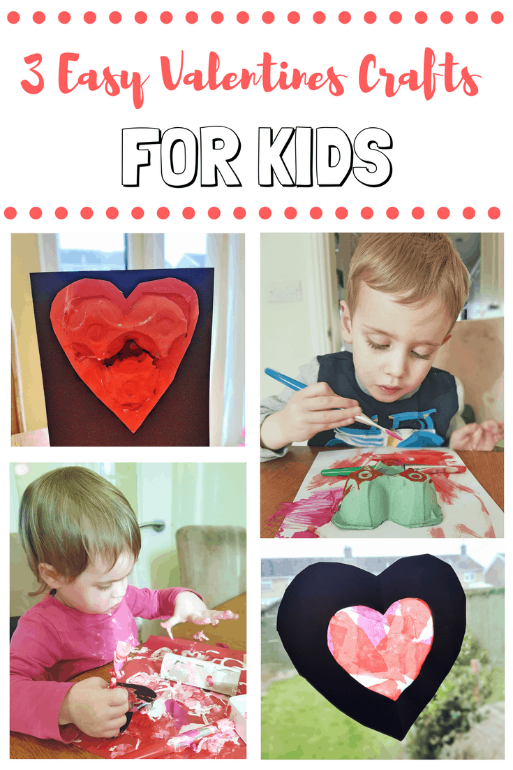 3 Easy Valentines Crafts for Kids