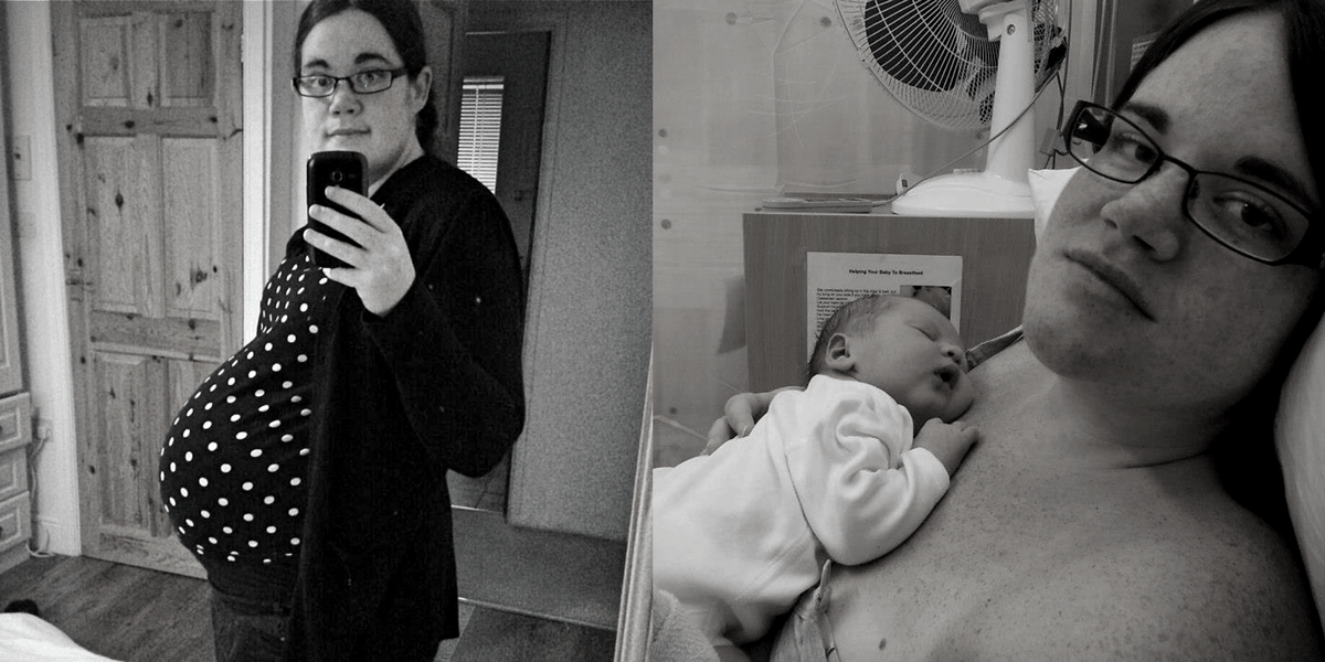 A letter to my pregnant self with Tesco Baby Event