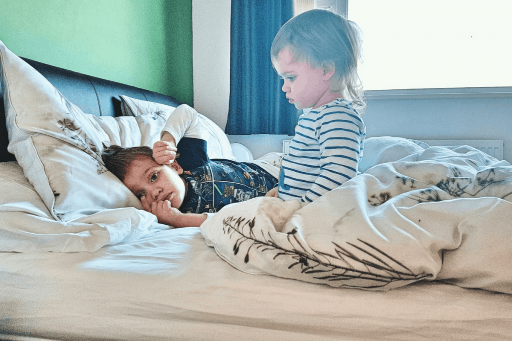 Sleeping soundly with an Emma Mattress