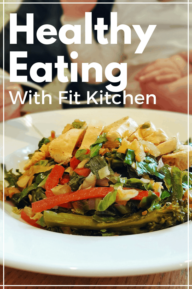 Healthy eating with Fit Kitchen