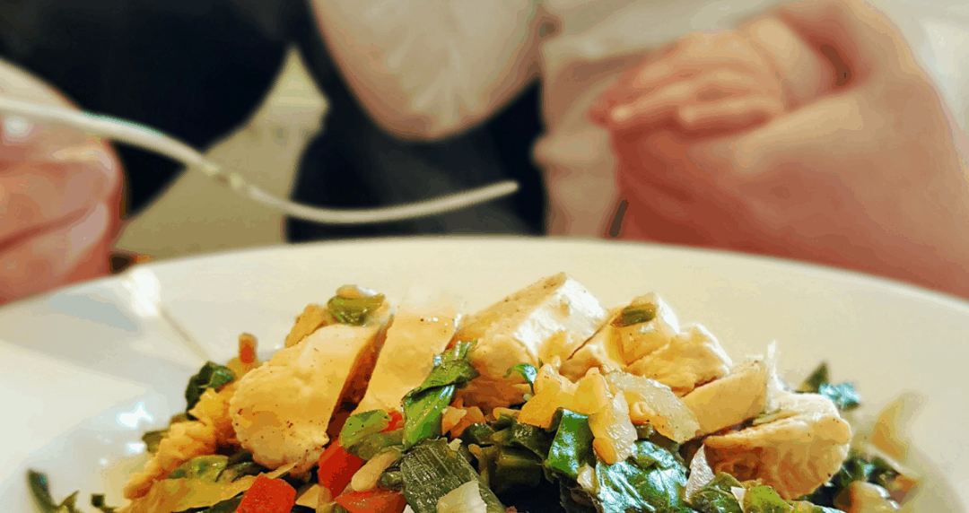 A healthy meal from Fit Kitchen