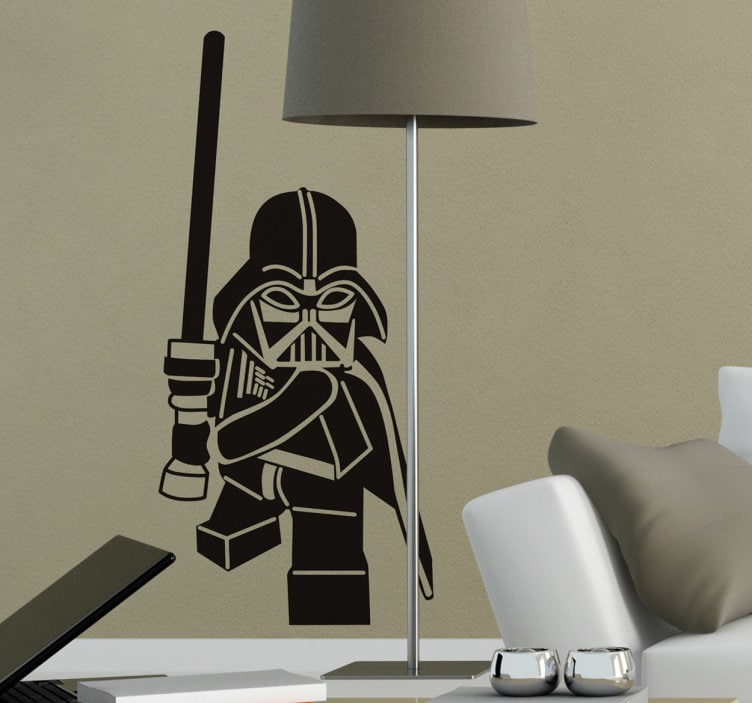 Lego Darth Vader Wall Stickers