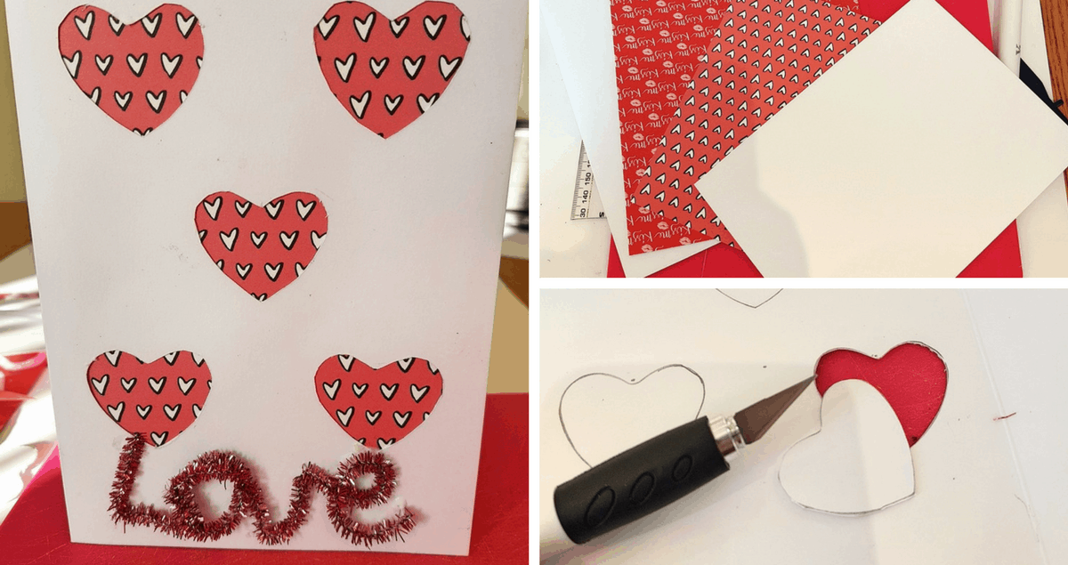 Really Easy Greetings Card Craft