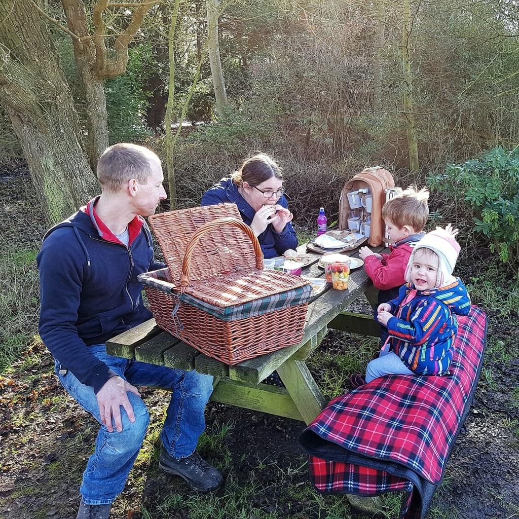 Our family picnic at Croome for the Staycation Challenge