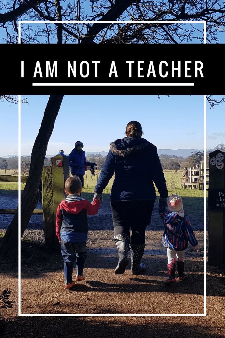 I am not a teacher - Pinterest