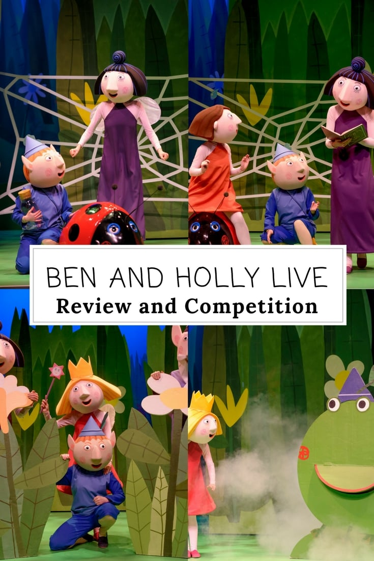 Ben and Holly Live - review and win family tickets to a show near you.