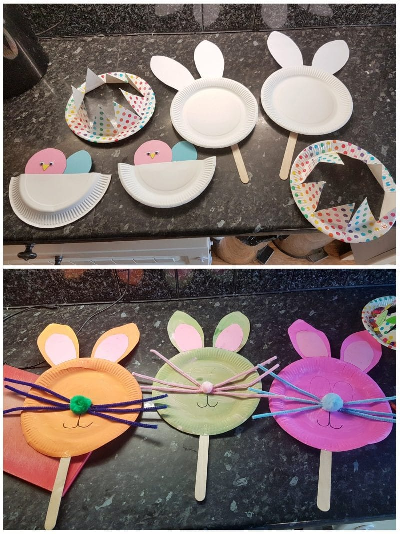 Ready for the kids to be let loose - Easter crafts