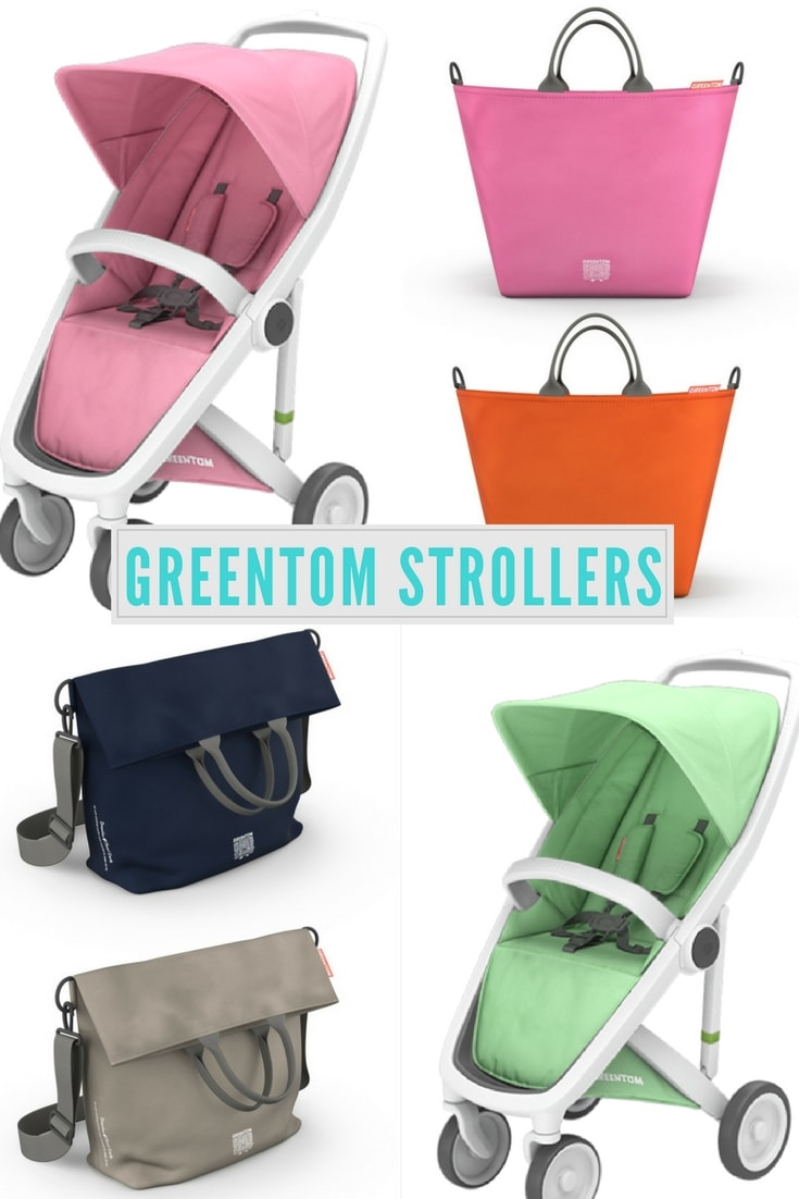 Greentom sustainable Stroller Giveaway and changing bag review