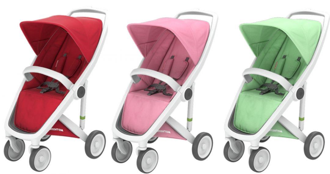 Multicoloured Greentom Stroller
