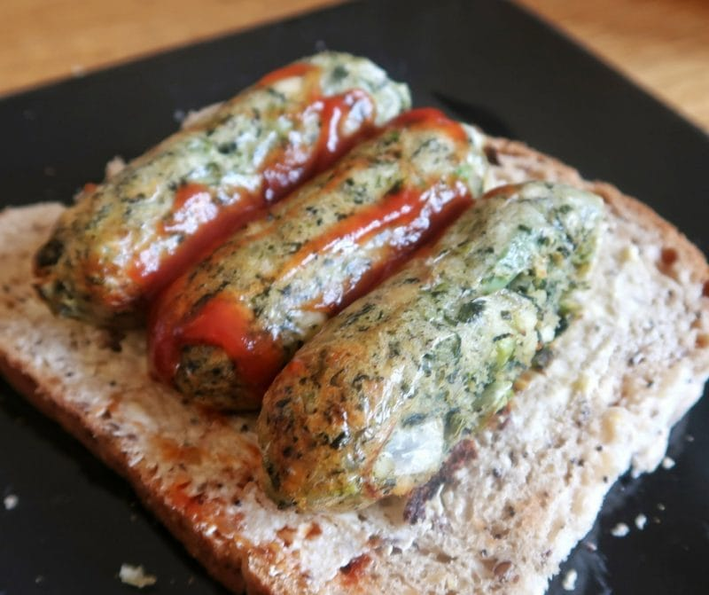 Goodlife French Bean & Spinach Sausage Sandwich