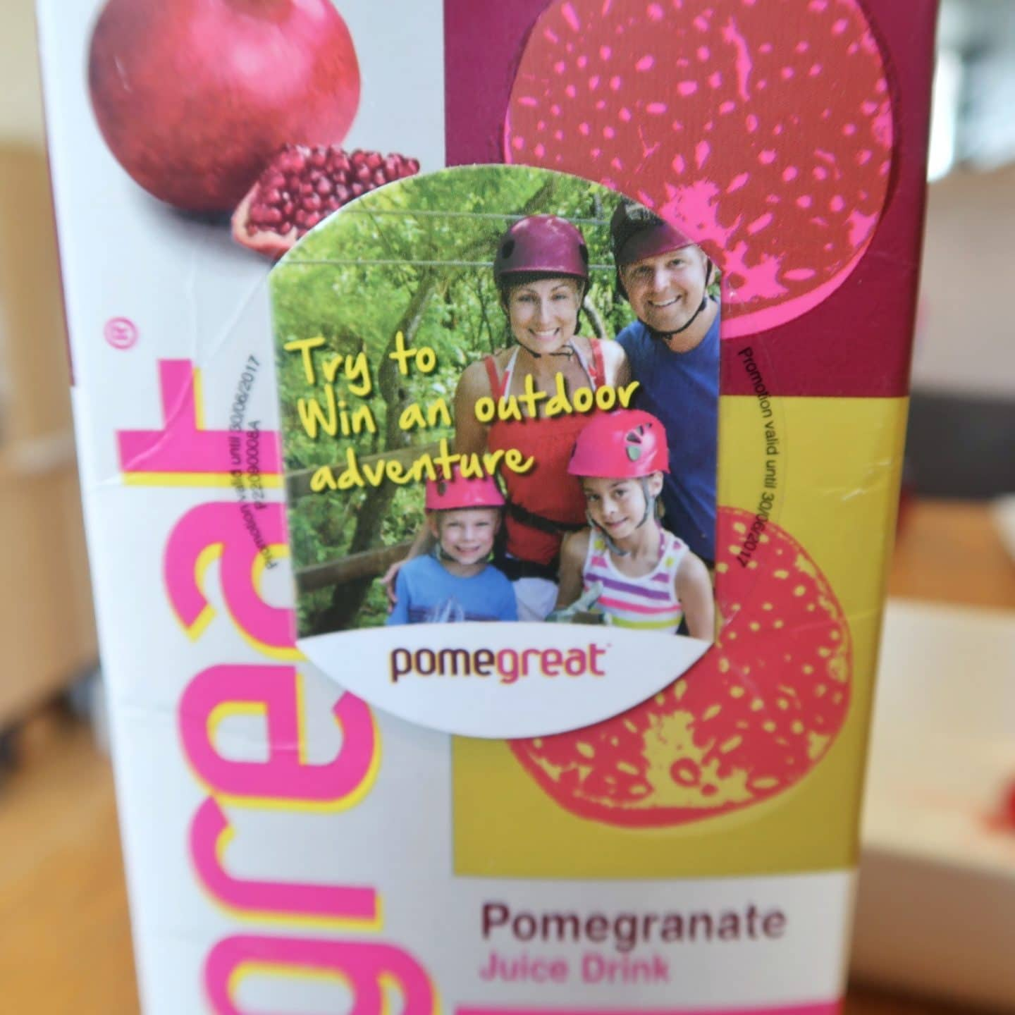 Win a Go Ape voucher with Pomegreat