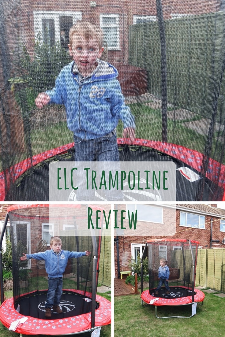 Early Learning Centre 6ft enclosed trampoline review and video
