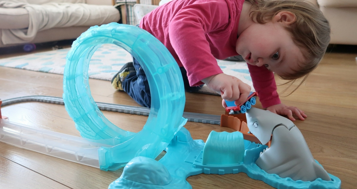 Thomas and Friends Shark Escape Review and Giveaway