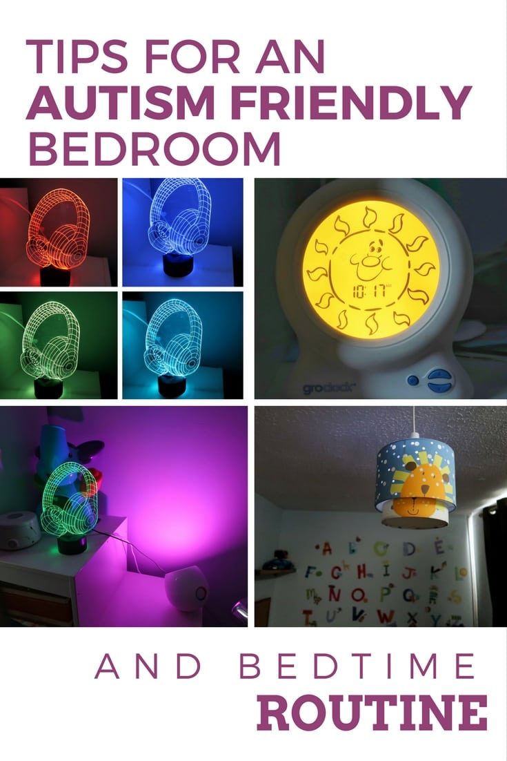Tips for an Autism Friendly Bedroom and Bedtime Routine