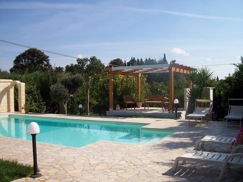 Private pool for self-catering holidays