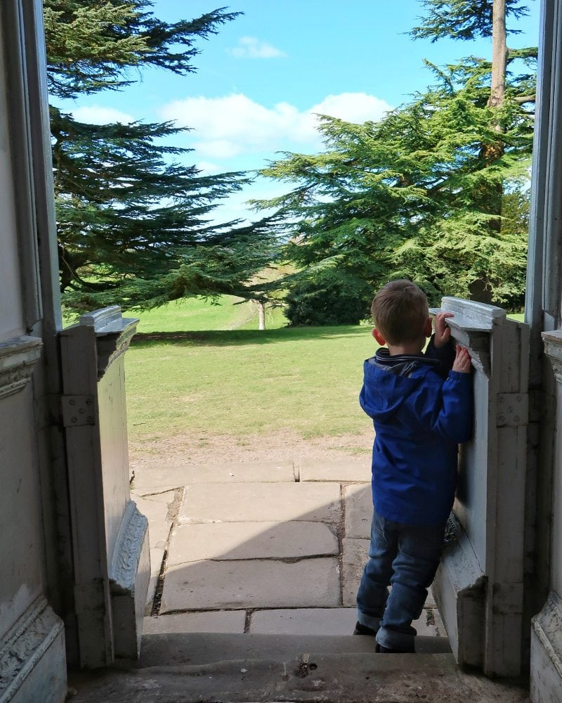 Biggest in the doorway if the rotunda at Croome