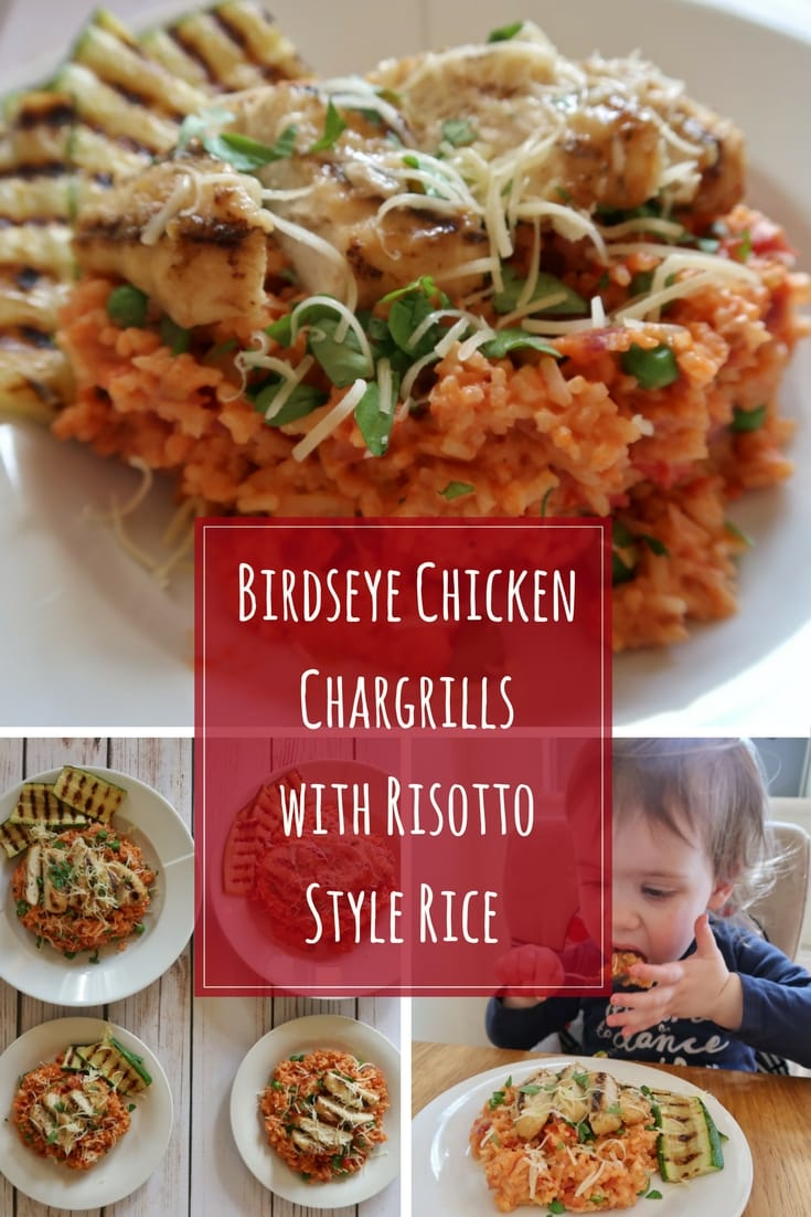 Birds Eye Chicken Chargrills with Risotto Style Rice