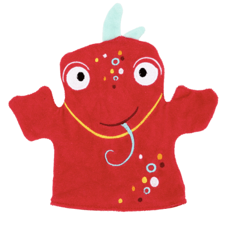 Good Bubble Dexter Dragon Fruit wash mitt