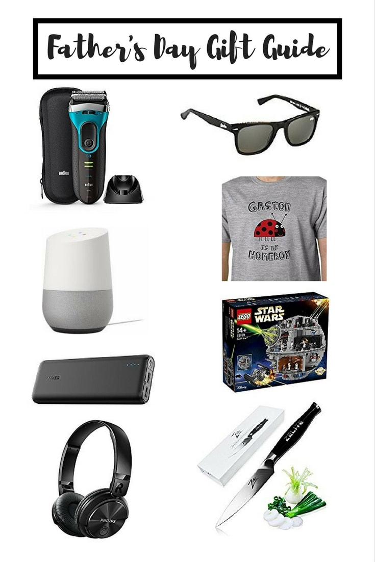 Father's Day Gift Guide - a selection of gifts for Dads in different price ranges