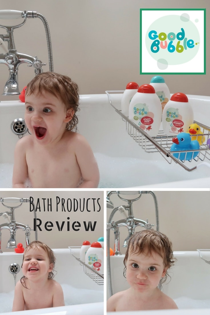 Good Bubbles - a review of the deliciously scented bath products for babies and children from Good Bubbles