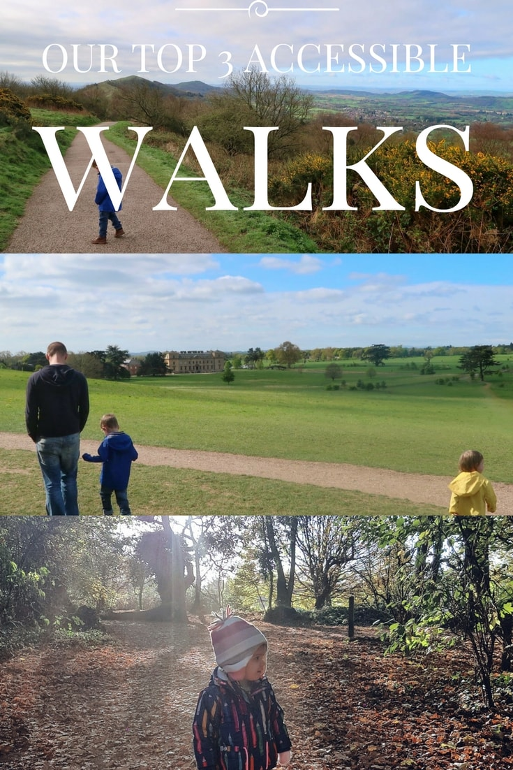 Our top 3 accessible walks for those with reduced mobility. Walks are all in the Worcesershire and Gloucestershire area