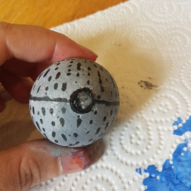 Death Star for model solar system