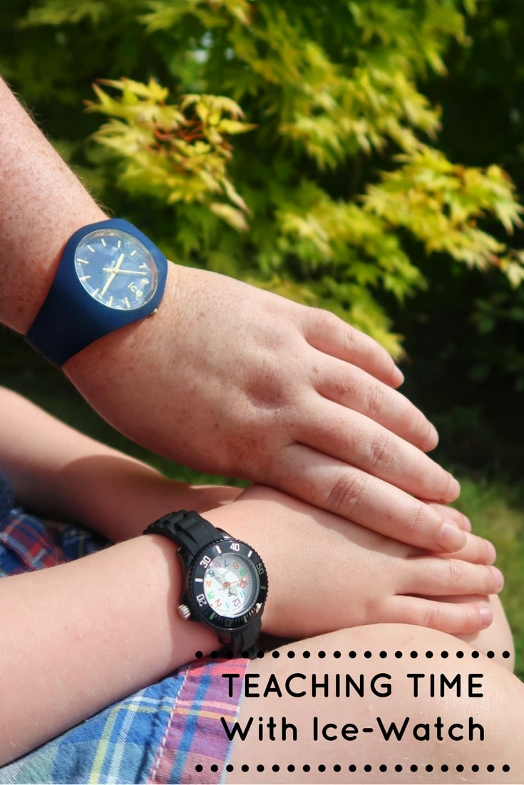 Tips for teaching children to tell the time with a review of Ice Watches