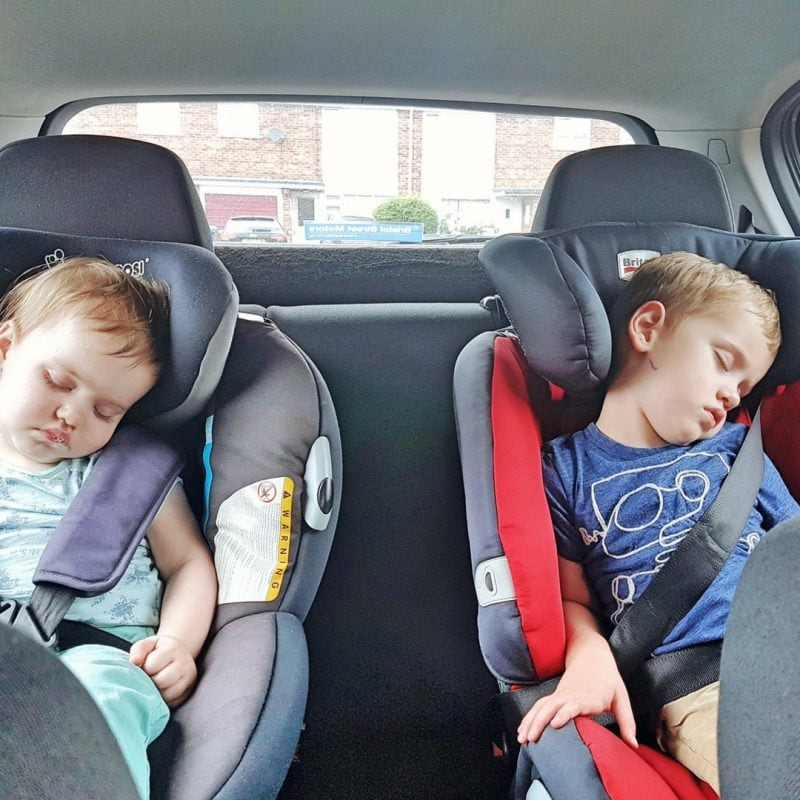 Children in carseats