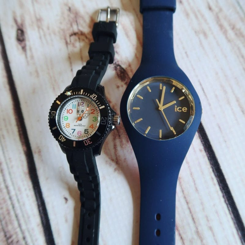 Tips for teaching children to tell time with Ice Watches